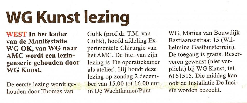 Stadsblad de Echo 28 november 2012